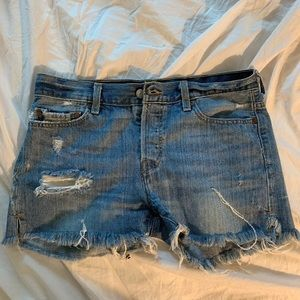Vintage Levi's Denim Shorts 27/28